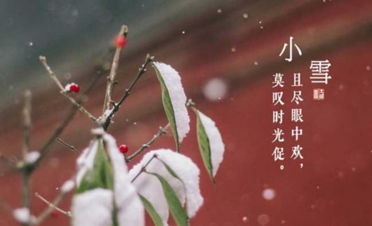 小雪 - 小雪节气时间,二十四节气之小雪介绍,二十四节气|24节气
