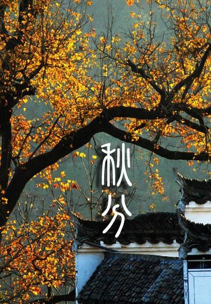秋分 - 秋分节气时间,二十四节气之秋分,秋分是几月几日|二十四节气