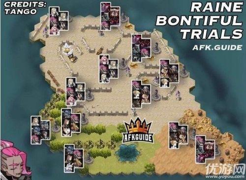 剑与远征雷恩试炼之地路线选择 打法攻略