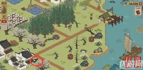 江南百景图阊门宝箱地图分布位置