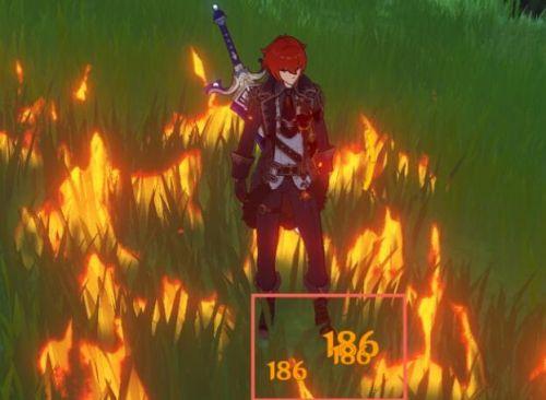 原神燃烧伤害变高了原因 原神草地燃烧伤害太高容易死降低方法