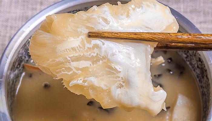 鱼肚泡发的正确方法